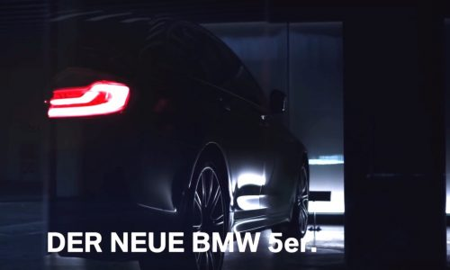 G30 BMW 5 Series previewed again, shows some body (video)