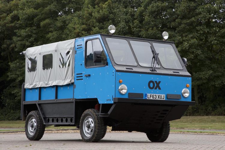 Global Vehicle Trust OX by Gordon Murray-front