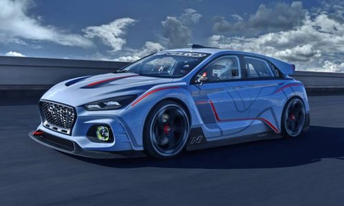 Hyundai RN30 concept debuts in Paris, previews i30 hot hatch
