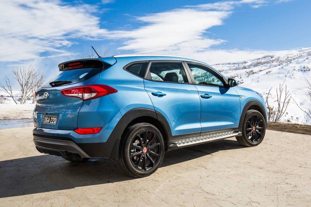 Hyundai Tucson Special Edition Rear