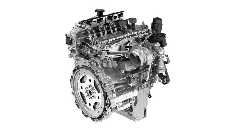 Jaguar Land Rover Ingenium petrol 2L