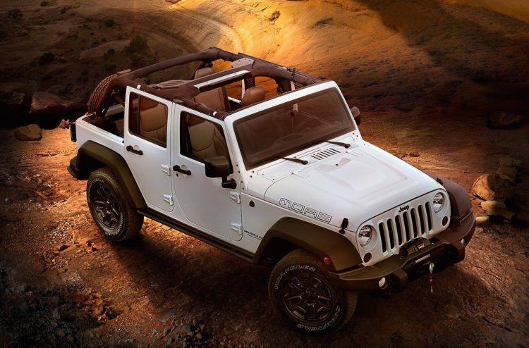 Best SUVs jeep wrangler