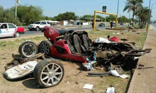 Koenigsegg CCX crash in Mexico leaves devastating result