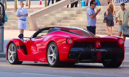 LaFerrari Aperta confirmed as name for new convertible (video)