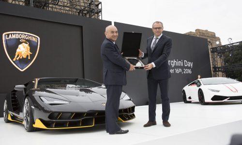 Lamborghini celebrates 30 years of carbon fibre use