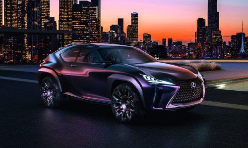 Lexus UX concept unveiled at 2016 Paris Motor Show