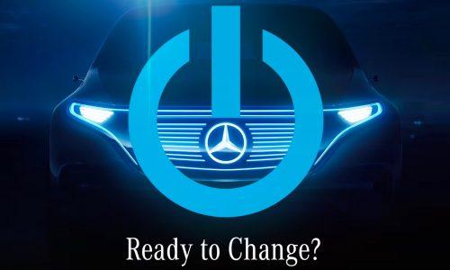Mercedes-Benz previews EV concept before Paris debut (video)