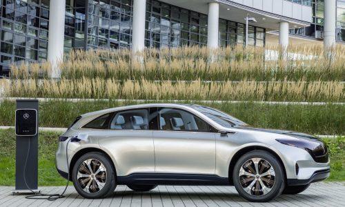 Mercedes Generation EQ bows at Paris motor show