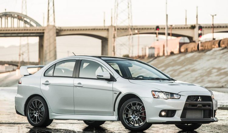 Mitsubishi Lancer Evolution Final Edition US-spec