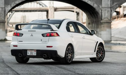 Last Mitsubishi Evo Final Edition sells at auction