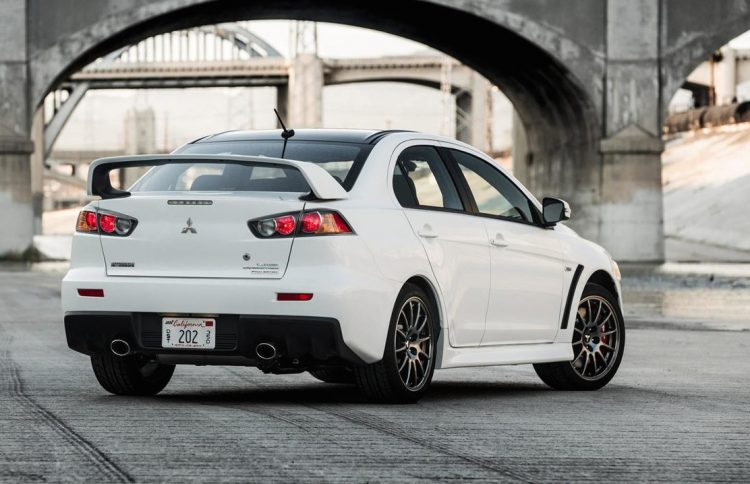 Mitsubishi Lancer Evolution Final Edition US-spec rear