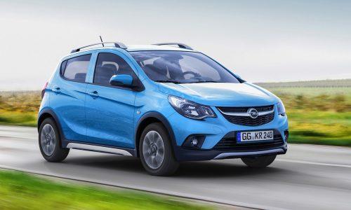 Opel Karl Rocks revealed, baby crossover based on Spark