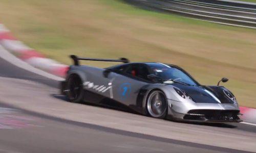 Pagani hunting Nurburgring record with Huayra BC? (video)