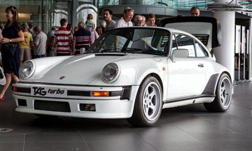 Found: McLaren Porsche 911 with TAG F1 V6 engine