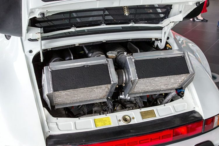 Porsche 911 930 TAG F1 engine