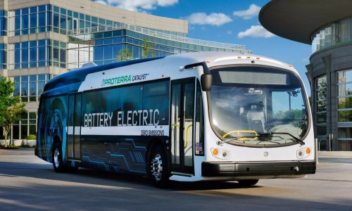 Proterra Catalyst E2 is a 660kWh EV bus with 560km range