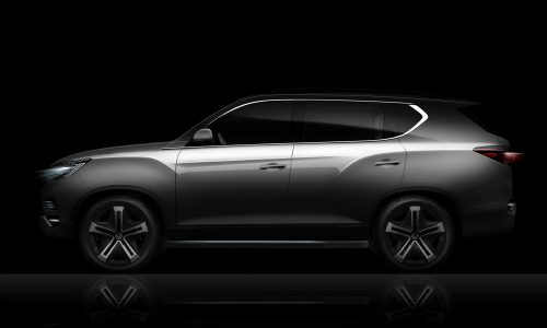 SsangYong LIV-2 SUV concept previewed before Paris