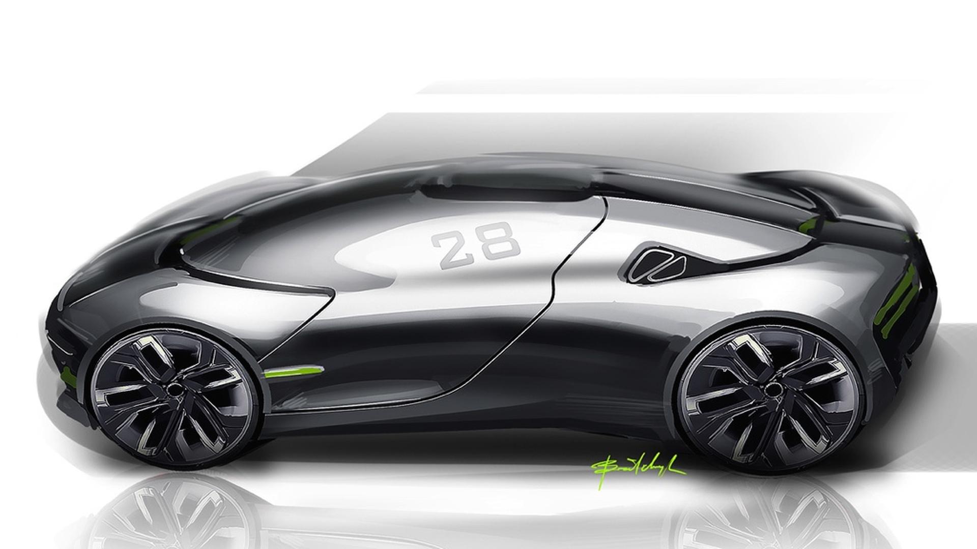THX Concept Envisaged As Future EV Sports Car