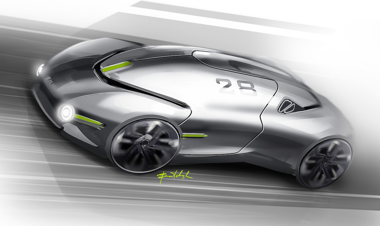 Thx Concept Envisaged As Future Ev Sports Car