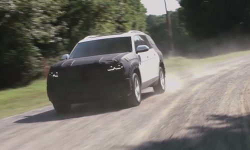 Volkswagen previews US-bound Teramont large SUV (video)