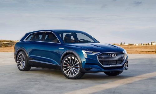 Audi 'Q6' electric SUV to be badged e-tron, sedans to follow