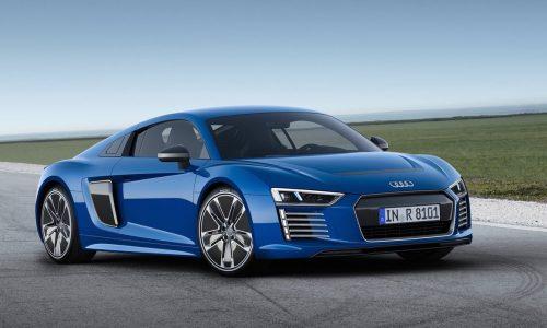 Audi R8 e-tron electric supercar canned already