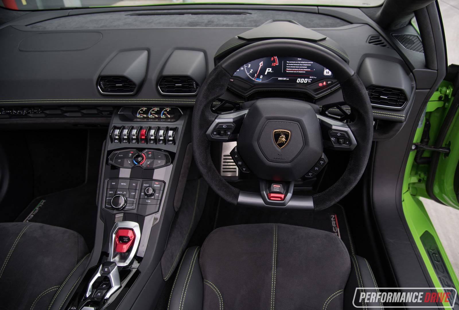 2016 Lamborghini Huracan Spyder Review Video Performancedrive