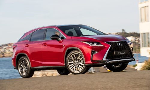 Lexus RX 200t now available in F Sport & Sports Luxury form