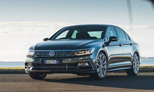 2017 Volkswagen Passat on sale in Australia, with 206TSI variant