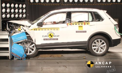2016 VW Tiguan, BMW X1, Jeep Renegade awarded 5-star ANCAP safety