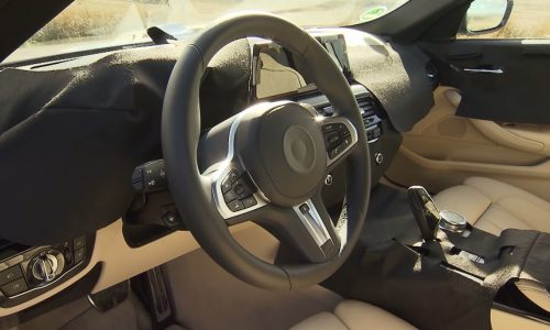 2017 BMW 5 Series interior previewed, to debut this week (video)