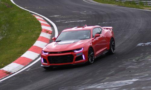 2017 Chevrolet Camaro ZL1 laps Nurburbring in 7:29.60 (video)