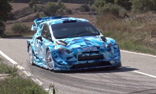 2017 Ford Fiesta WRC car previews next-gen design (video)