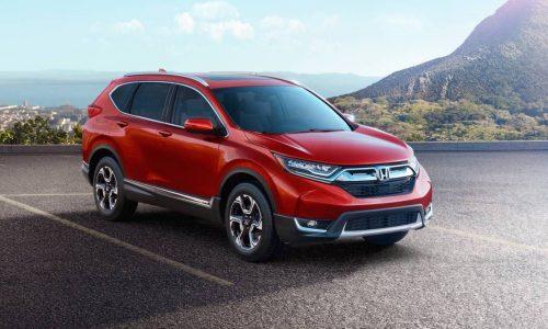 2017 Honda CR-V revealed in US-spec, brings 1.5T