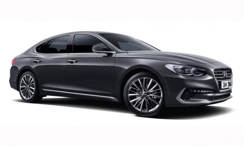 2017 Hyundai Grandeur / Azera revealed