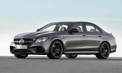 2017 Mercedes-AMG E 63 revealed, S packs 450kW