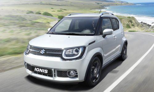 2017 Suzuki Ignis confirmed for Australia, arrives Q1