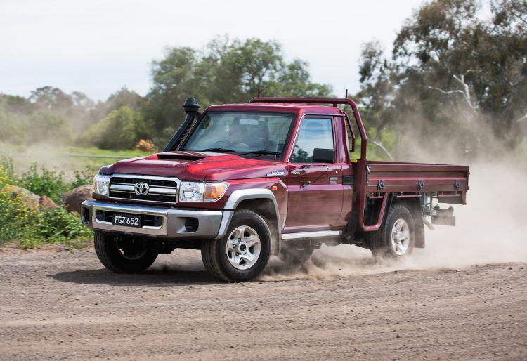 2017 Toyota LandCruiser 70 Series Single Cab Chassis GXL