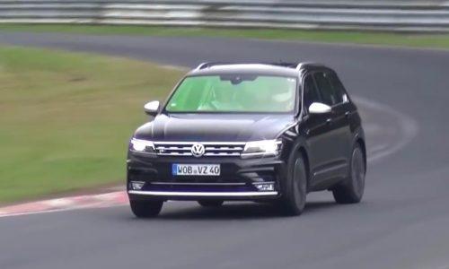 Volkswagen Tiguan R performance variant confirmed, prototype spotted (video)
