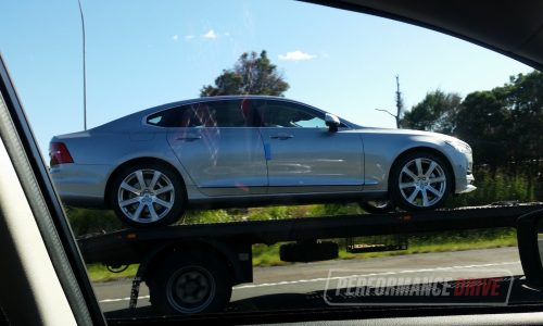 2017 Volvo S90 spotted in Australia ahead official launch