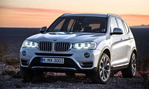 2018 BMW X3 'G01' getting EV variant, EV MINI planned – report