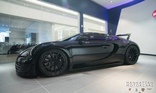 For Sale: 2012 Bugatti Veyron Super Sport, travelled 1700km