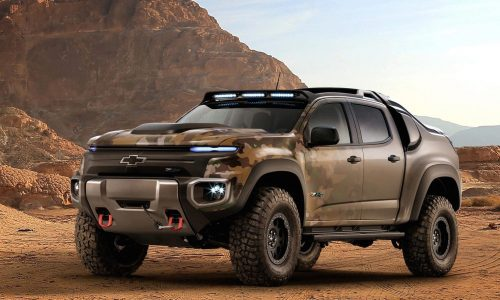 Chevrolet creates Colorado ZH2 fuel-cell prototype, for US Army