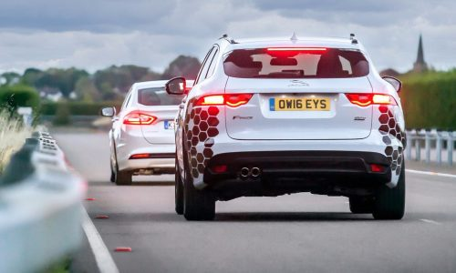 Jaguar Land Rover & Ford team up for UK's Autodrive project
