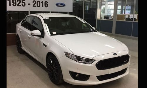 Last Ford Falcons sold at auction, Sprint fetches over $120,000