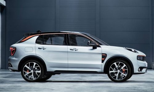 Lynk & Co 01 revealed, from new Geely sub-brand