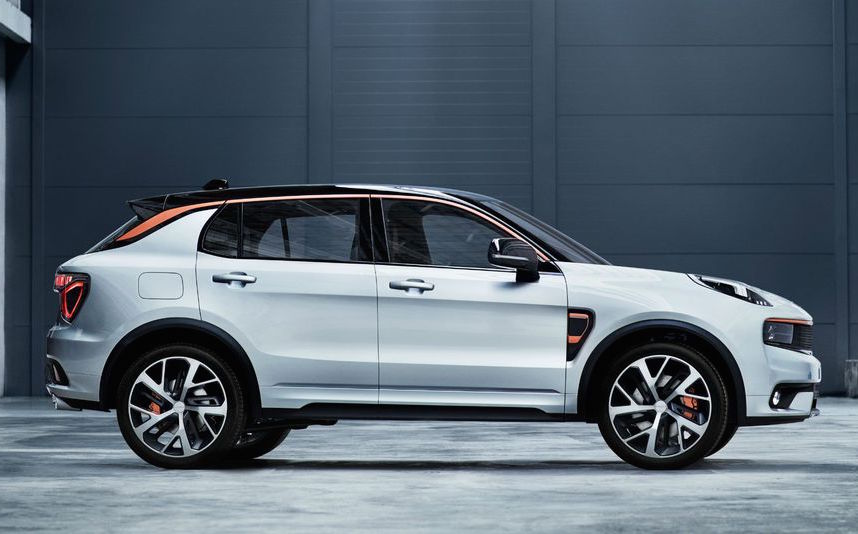 Lynk Amp Co 01 Revealed From New Geely Sub Brand