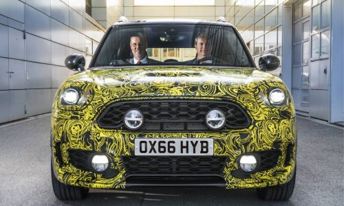 MINI ready to launch its first plug-in hybrid, based on Countryman