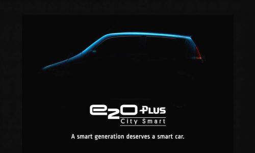 Mahindra previews new five-door EV; the e20Plus