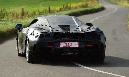 Next-gen McLaren 650S spotted, known as 'P14'